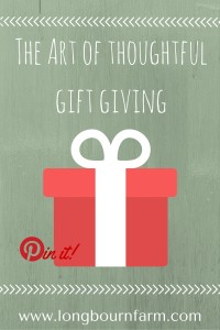 The art of thoughtful gift giving