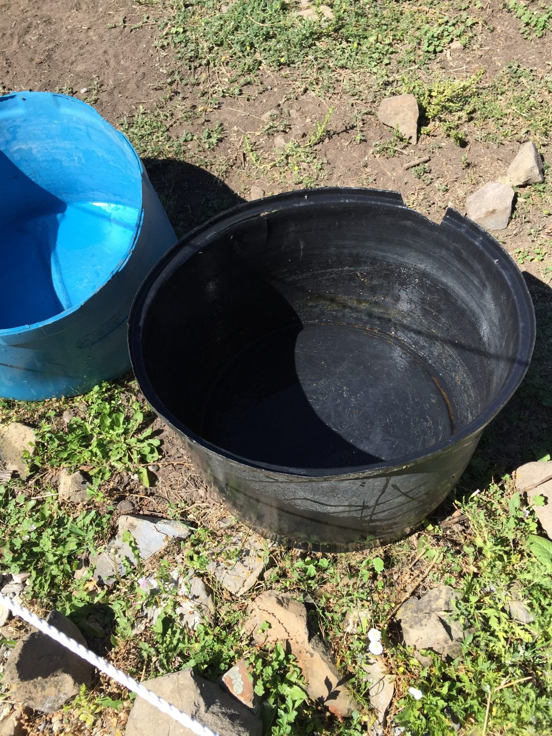 An Easy and Effective Way to Clean Water Troughs