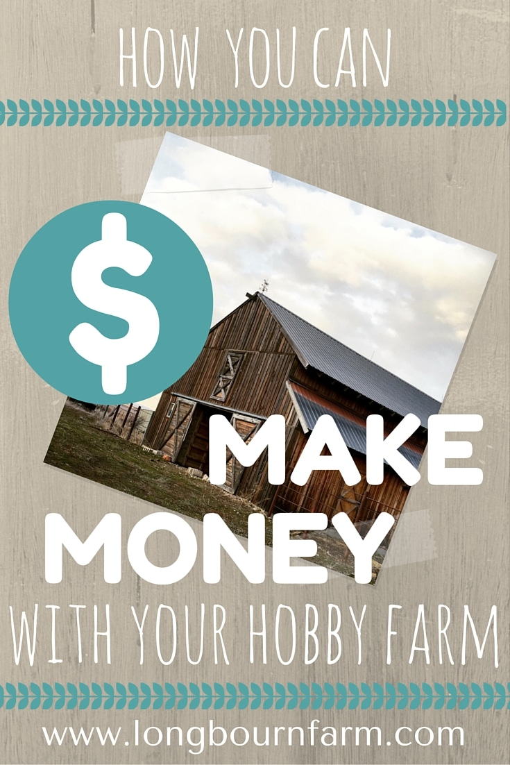 5 ways you can make money hobby farming, check out the post for the full details and start earning income on your hobby farming property today!