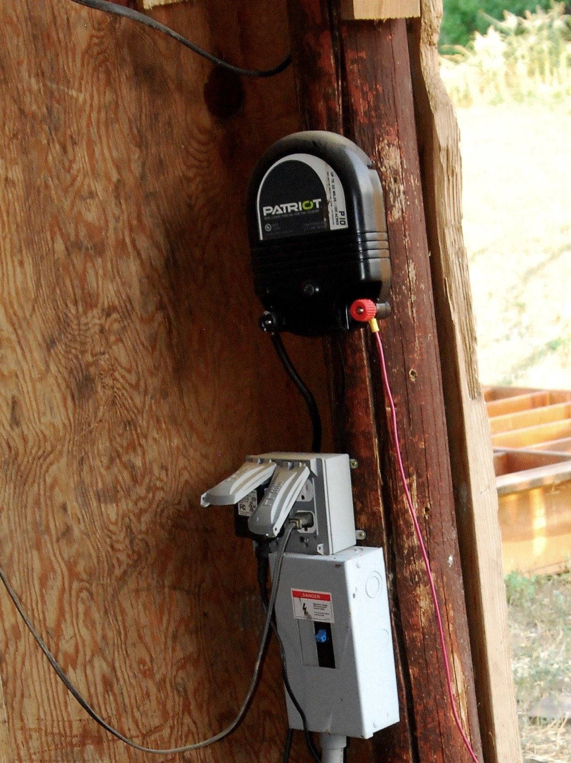 Patriot electric fence charger