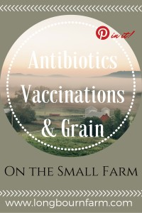 Get all the RIGHT info on how antibiotics, vaccinations, and grain should be used on your small farm and how it effects the food your produce.