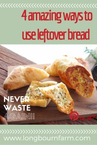 4 amazing ways to use leftover bread!!