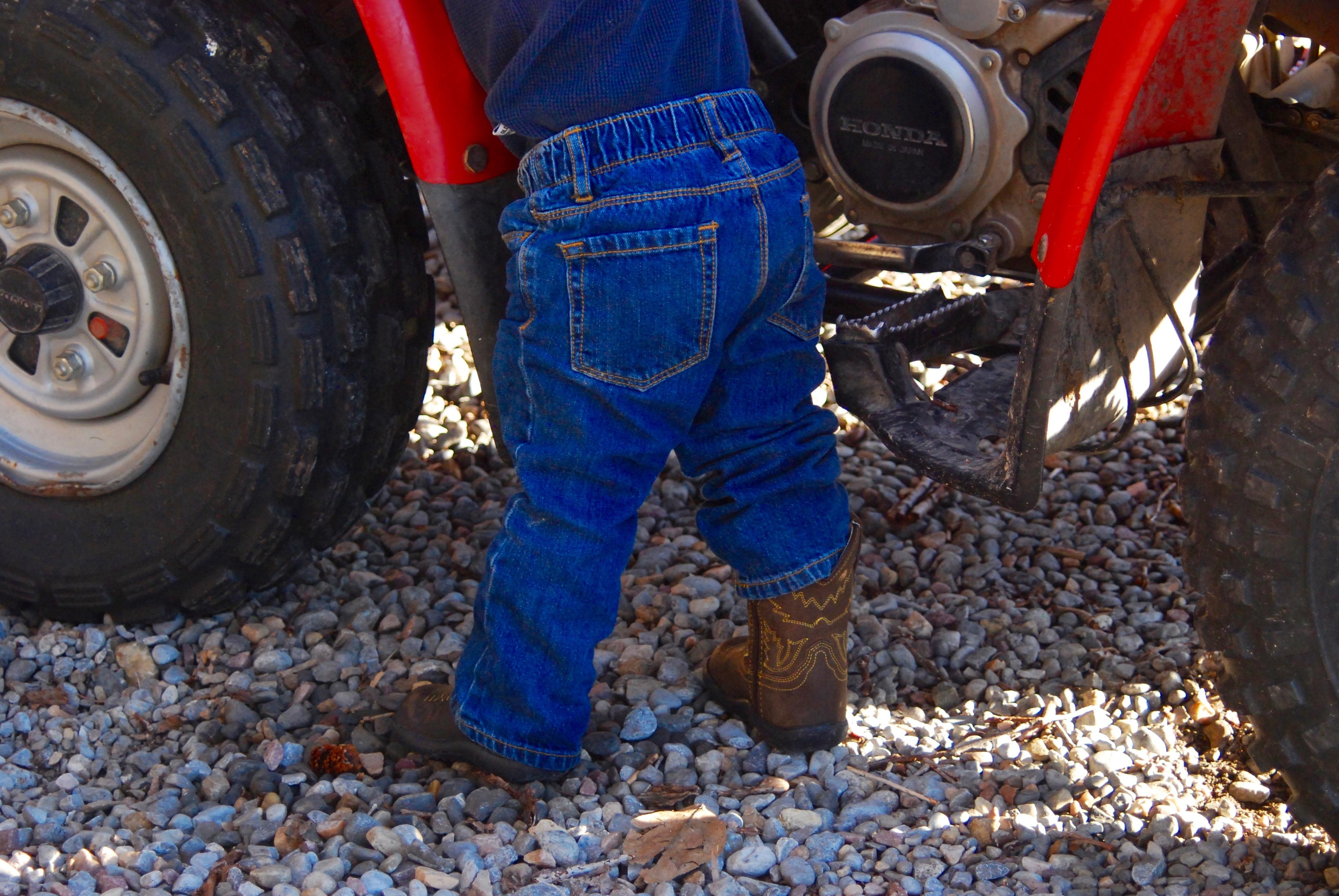 Tiny boots back