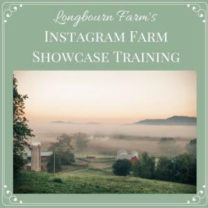 Instagram Farm Showcase Training