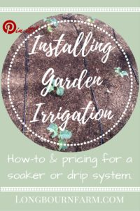 How to install drip or soaker irrigation in your garden. Its and easy and fast garden watering system!