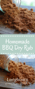 Summer time? Grilling time? Check out this homemade BBQ dry rub that is sure to take your meat to the next level. Make a bunch and store it in the pantry!