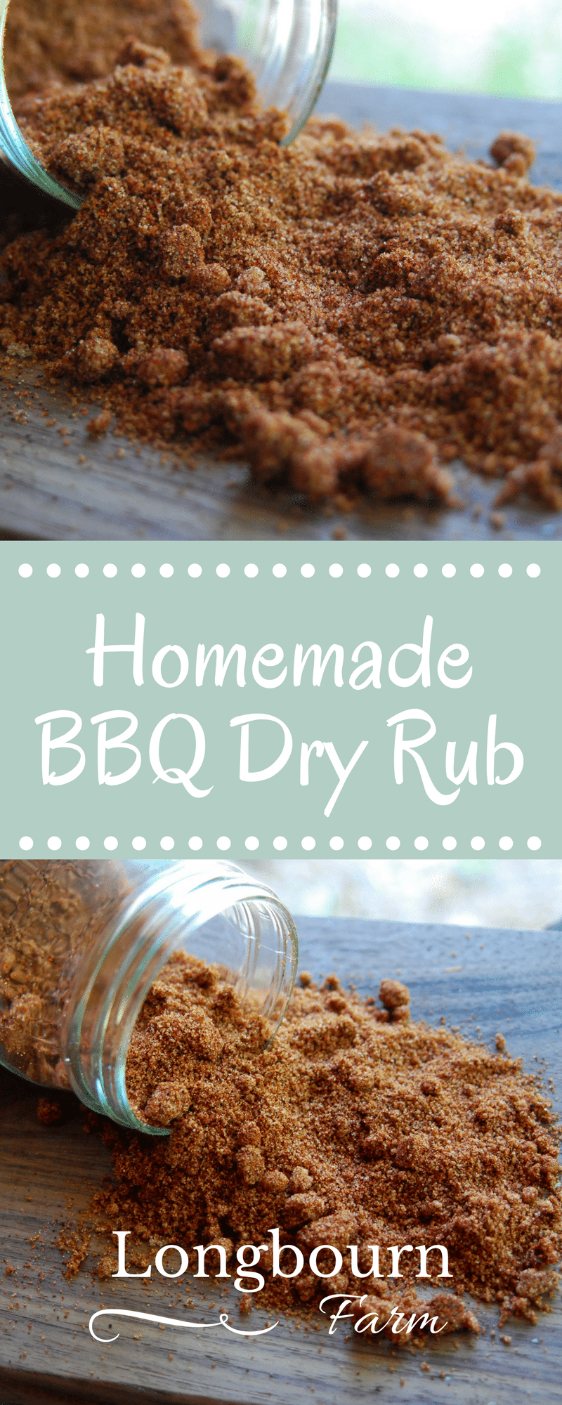 Grilling time? Check out this homemade BBQ dry rub recipe that is sure to take your meat to the next level. Make a bunch and store it in the pantry! via @longbournfarm
