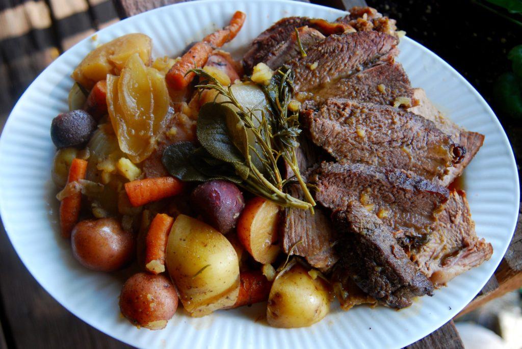 Easy Pot Roast Recipe with Root Vegetables!