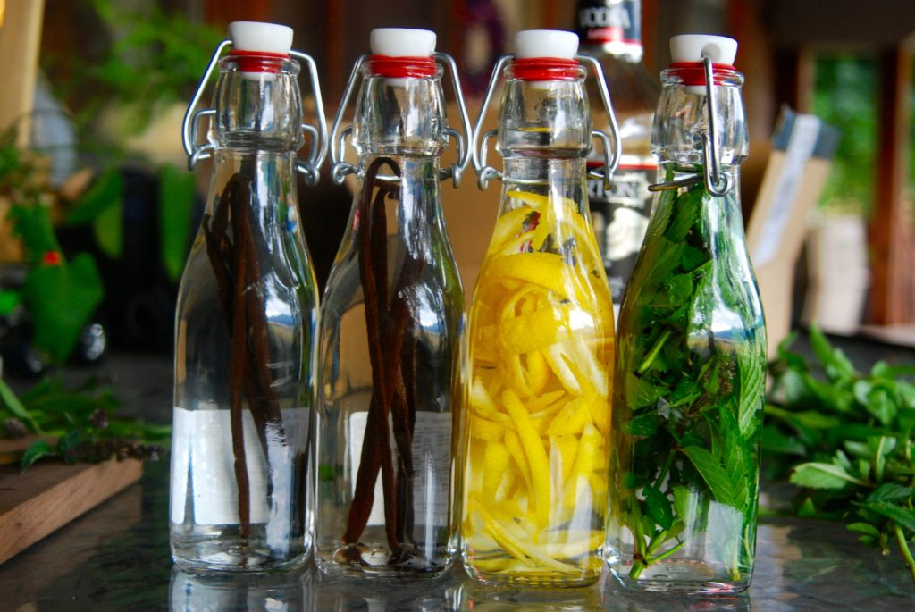 All the details on making homemade vanilla extract. Also learn how to make mint extract and lemon extract as well! Get the details on what to use!