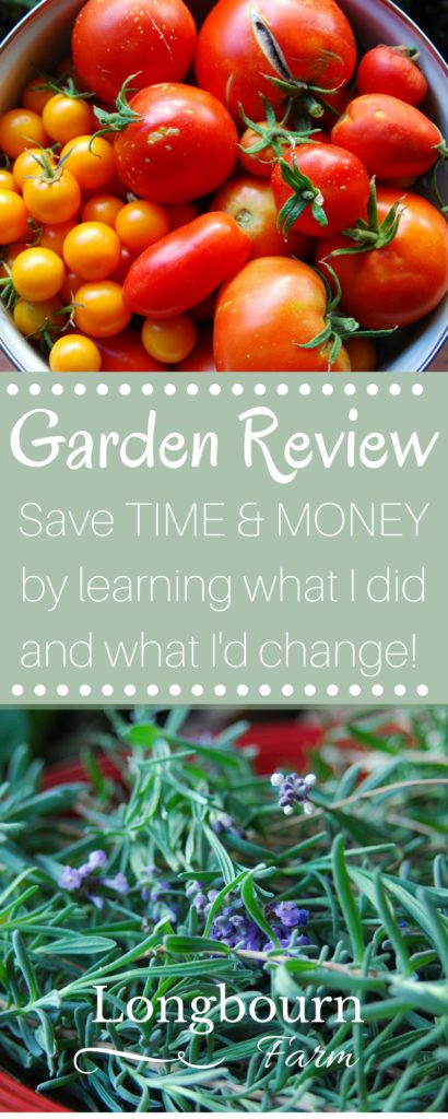 Read what I did in my garden this year, how it work, how it compared to previous years, and what my plans are for the future. It will help you make your own garden improvements, save time in your garden and save money in your garden!