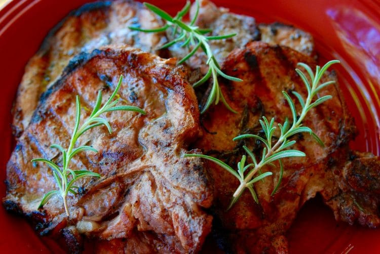 Easy Pork Chop Marinade for Grilling