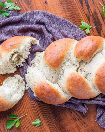 60 Minute Homemade Herb Bread