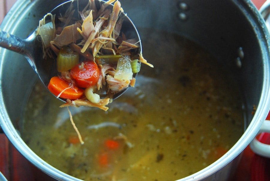 How Long To Cook Chicken Soup From Scratch