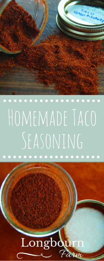 Homemade taco seasoning is so easy to make and lets you control exactly what goes in and what the spice level is like! Take 5 minutes and throw it together.