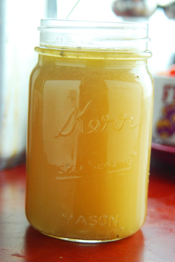 How to make homemade chicken broth!