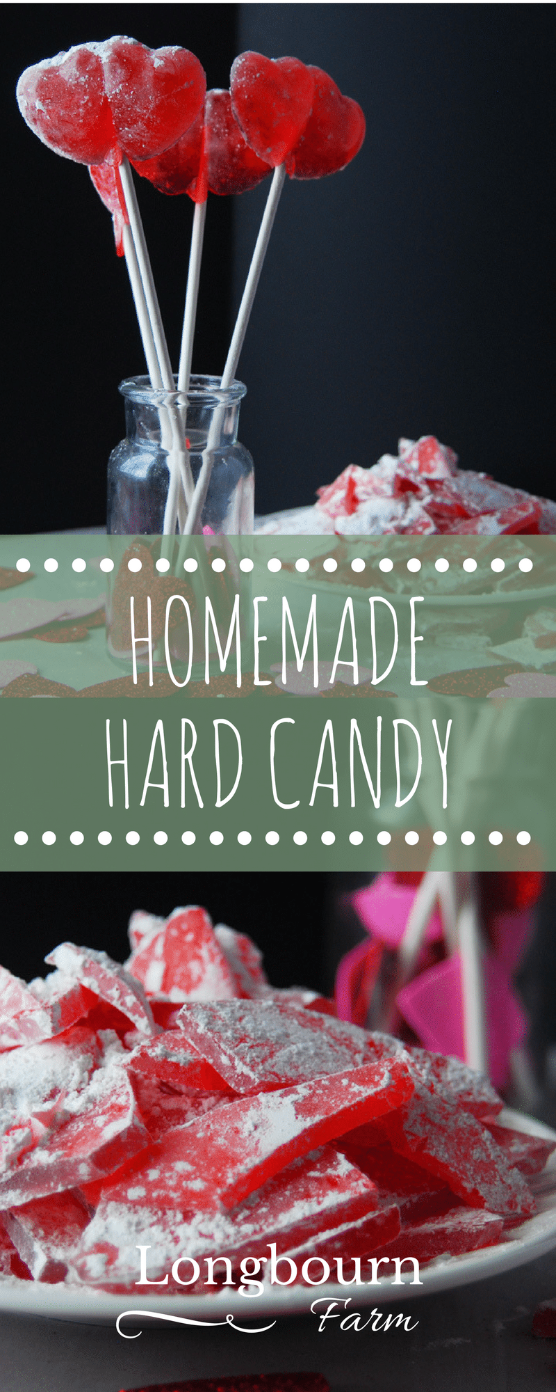 Homemade hard candy isn't hard to make! Follow this easy hard candy recipe and the step-by-step instructions. Changing the flavor is simple and delicious!