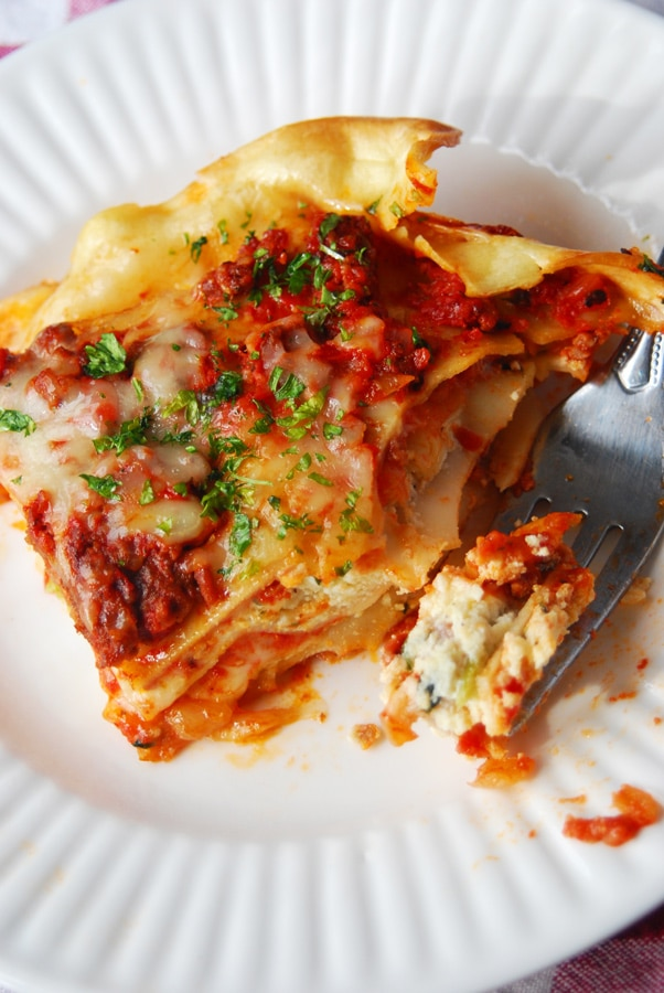 The Best Homemade Lasagna!