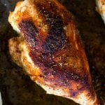 baked and seasoned chicken breast