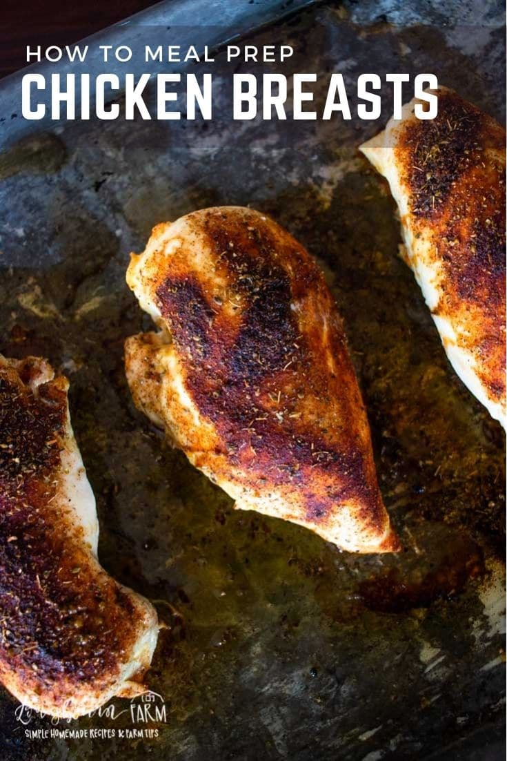 Do you know how to meal prep chicken breasts by baking them in the oven? Follow this easy recipe for perfectly juicy chicken every time.