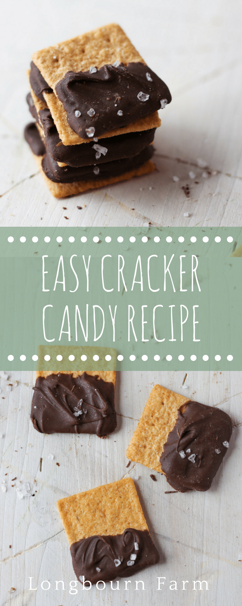 This easy cracker candy recipe is the perfect party snack, game day snack, or after lunch snack. Sweet and salty with 3 ingredients and just 5 minutes.