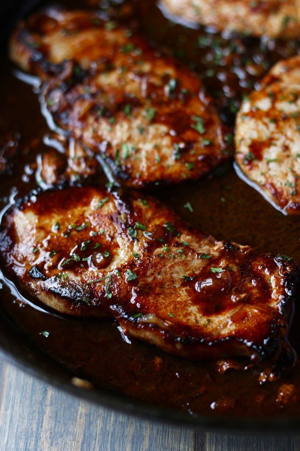 Recipe for stove top cooked pork chops