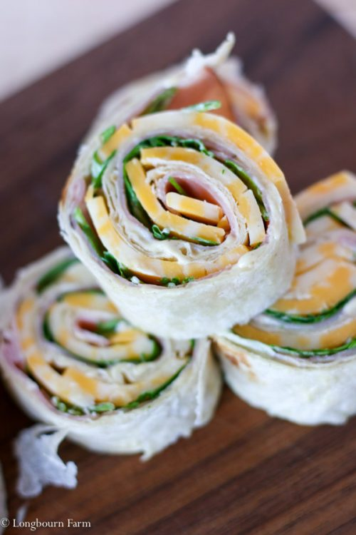 Super Easy Ham Roll Ups