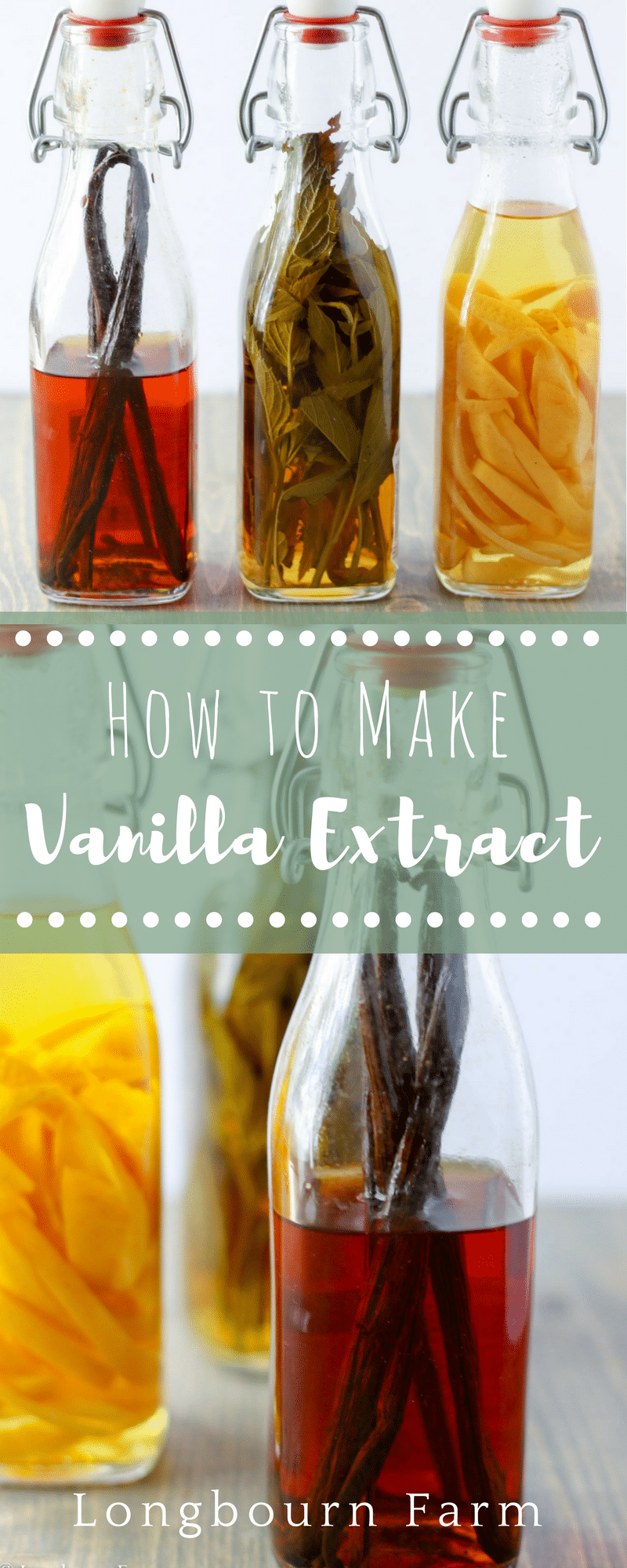 Learn how to make vanilla extract! Very detailed instructions to give you all the information you need. Homemade vanilla extract is easy and fun to make!