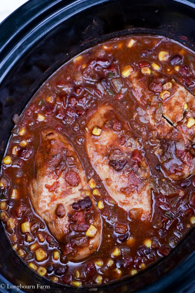 Slow Cooker Mexican Chicken!