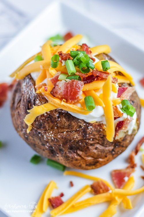 The Best Baked Potato Recipe