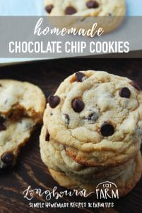 These homemade chocolate chip cookies are easy to make and so delicious. Delicious buttery flavor with perfect crispy edges with a chewy center. The best!! #chocolate #chocolatechip #chocolatechipcookies #cookies #bakingcookies #baking #bakingday #makingcookies #basiccookies