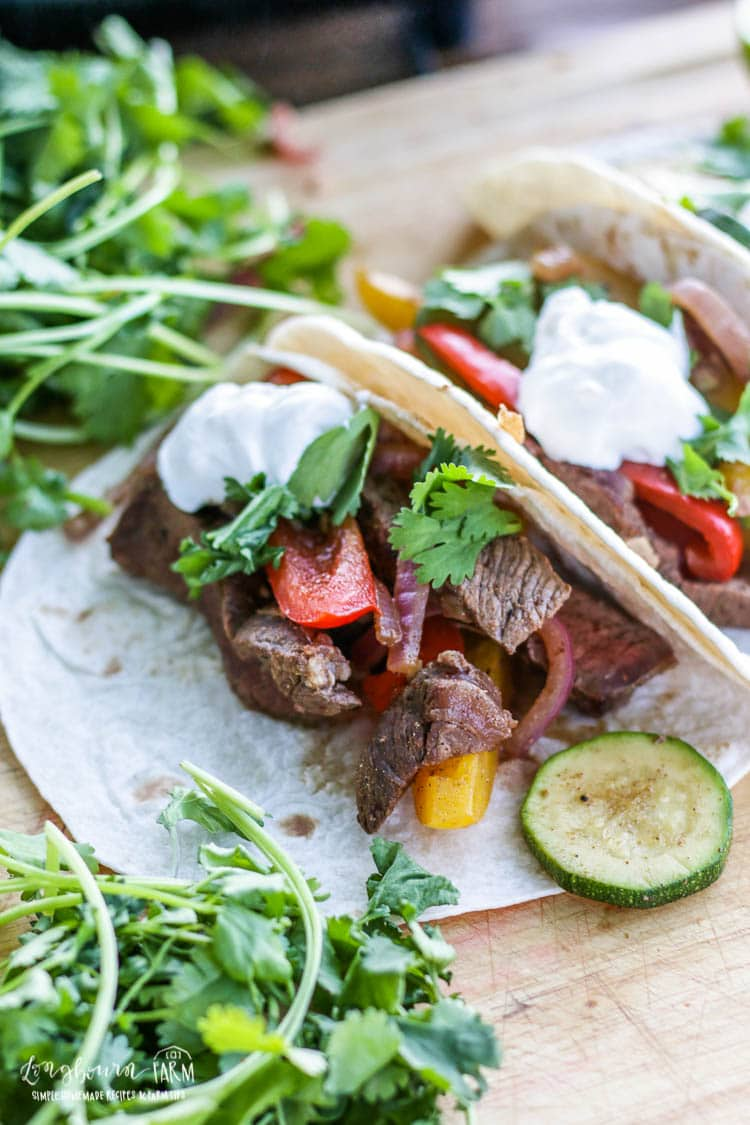 The Best Steak Fajita Recipe