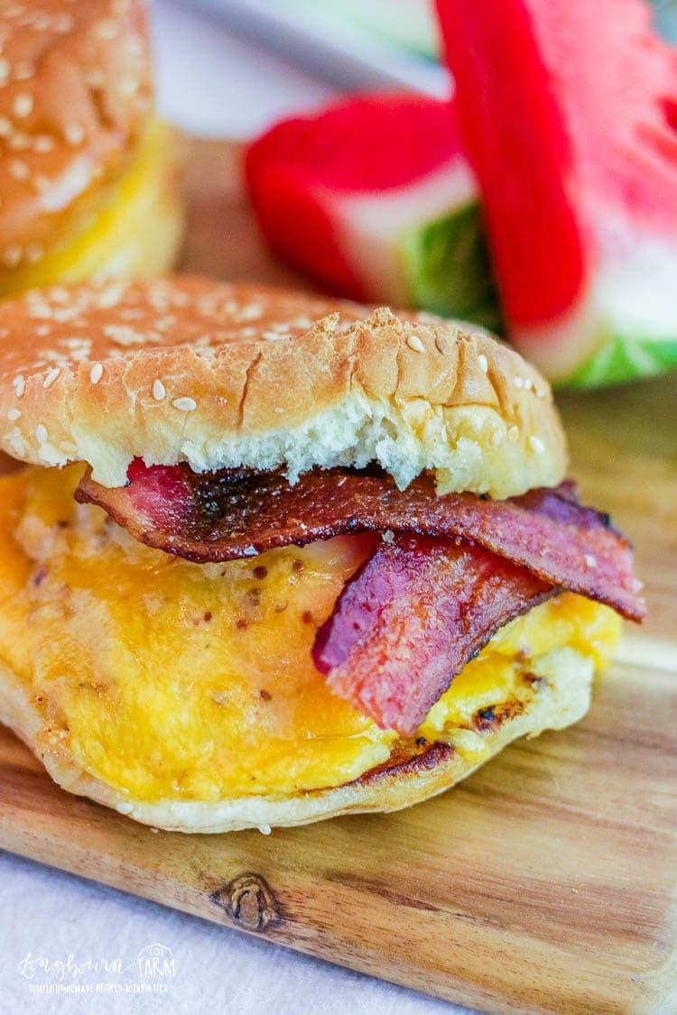 Chicken Bacon Sandwich Recipe