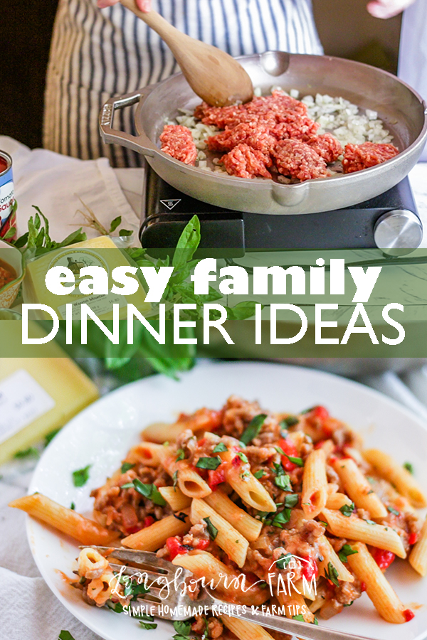 Easy Family Dinner Ideas