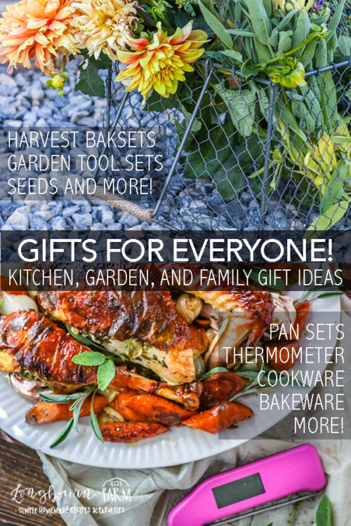 Finding the perfect gift for people in your life can be hard! Whether you need a kitchen gift, a family gift or a gardening gift I have the ultimate list. #longbournfarm #giftguide #kitchengifts #gardeninggifts #familygifts