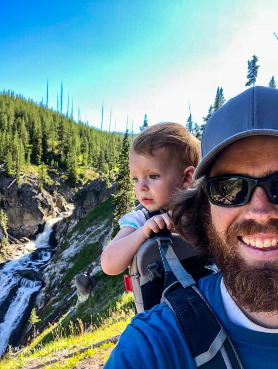 Family gifts, Osprey Child Carrier Backpack.