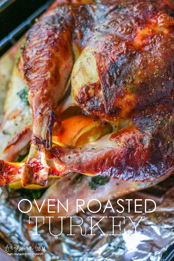 Learn everything you need to know to make this Thanksgiving turkey perfect. How to season a turkey, to roast a turkey in the oven and how to tell when the turkey is done. #thanksgivingturkey #thanksgivingturkeyrecipes #turkeyrecipesoven #roastturkey #roastturkeyrecipes #longbournfarm #thanksgivingrecipes via @longbournfarm