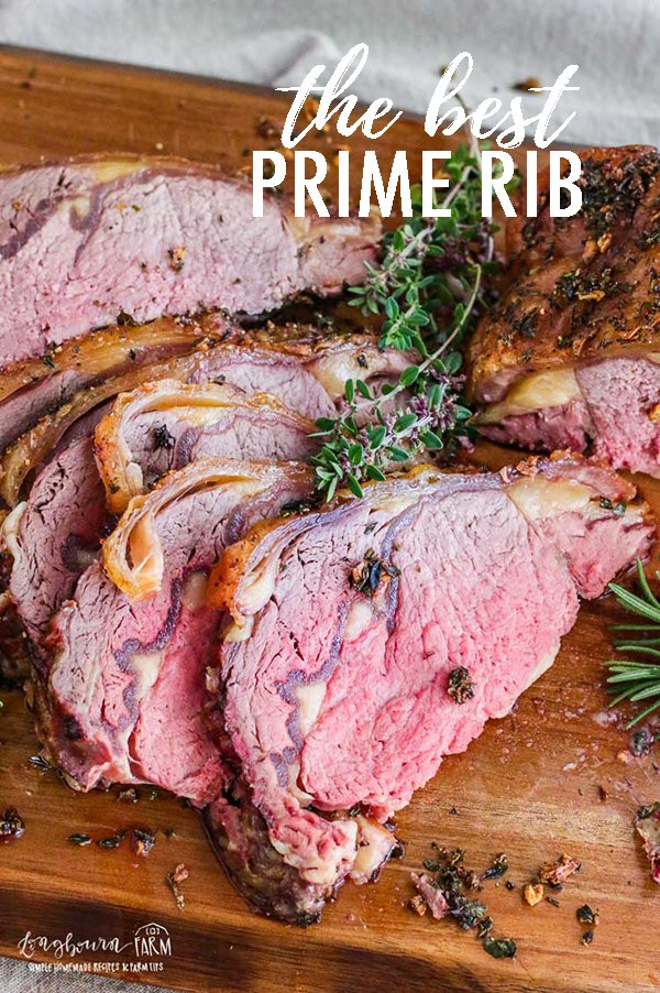 The best prime rib recipe is juicy, flavorful, and so easy to make. Get a perfect prime rib roast every time with this method! Learn how to season prime rib and the right technique for roasting it in the oven so it turns out perfectly every single time. #primeribrecipe #primeribrecipeoven #ovenroastedprimerib #maindish #holidaymenu #holidaymeal