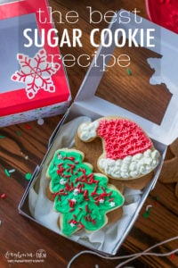 This truly is the best sugar cookie recipe, it turns out soft and perfect every single time. Easy to ice and fun for the whole family to make. #sugarcookierecipe #sugarcookies #sugarcookieicing #sugarcookieeasy #sugarcookiecutout