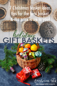 Christmas Gift Baskets Ideas.7 Diy Christmas Gift Basket Ideas Longbourn Farm