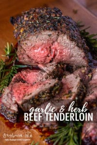 This garlic and herb beef tenderloin recipe is easy to prepare, flavorful, and incredibly tender. Wow your holiday guests with this perfect beef tenderloin! @beeffordinner #beeftenderloin #beeftenderloinrecipesoven #beeftenderloinrecipes #beeftenderloinrecipe #beeftenderloinrecipeeasy