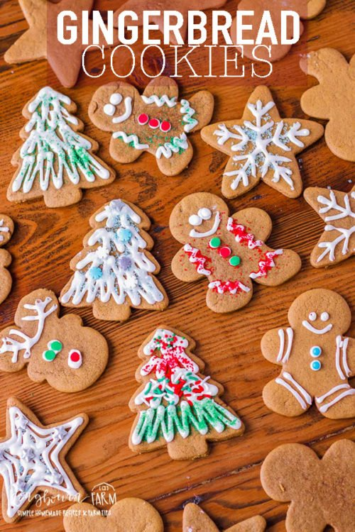 A soft gingerbread cookie recipe that is perfect for decorating! These festive cookies are packed with flavor and won't disappoint! #gingerbreadcookies #gingerbreadcookieseasy #gingerbreadcookiessoft #gingerbreadcookiesrecipe #gingerbreadcookiesdecorated