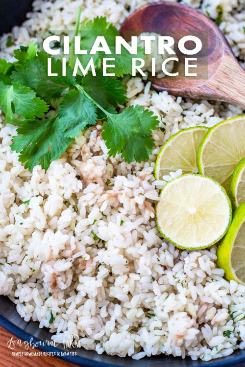 Cilantro lime rice is the perfect compliment to any tex-mex dinner and is easy to make. Flavorful with a punch of lime makes it delicious! #rice #ricerecipe #cilantrolimerice #cilantrolimericerecipe #cilantrolimericeeasy #cilantrolimericeccaferio #cilantrolimericebest #cilantrolimericestovetop #riceonthestovetop #stovetoprice