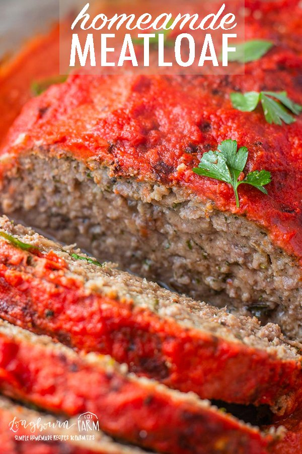 This homemade meatloaf recipe is a comfort food classic with an Italian twist on the classic. Never dry and perfectly seasoned, it's a hit every time. #homemademeatloaf #meatloafrecipe #meatloafrecipeeasy #meatloafeasy #meatloafrecipebest #meatloafbest #homemademeatloafeasy #homemademeatloafbest