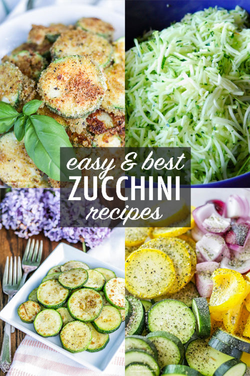 Zucchini is one of the easiest vegetables to cook with! Get recipes, tips, cooking ideas, and prep and storage directions all in one place!! #zucchini #zucchinirecipes #easyzucchinirecipes #bestzucchinirecipes #panfriedzucchini #parmesanzucchini #zucchinimuffins #zucchinipasta