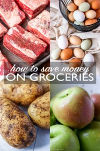 Saving money on groceries is not hard! Get the exact steps you need to know how to save money on groceries and still make delicious food for your family.#budgemeals #budgetfriendly #savemoney #moneysavingtips #grocerybudget #groceryshopping #grocerybudgettips #grocerybudget #grocerybudgetfor3 #grocerybudgetfor4 #grocerybudgetfor2 #grocerybudgettips #dinnerrecipescheap