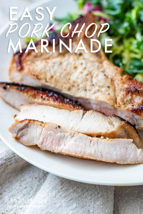 This easy pork chop marinade makes dinner prep so quick! Learn the quick hack and one-ingredient recipe for a delicious dinner.#marinade #porkchop #porkchopmarinade #marinaderecipe #porkchoprecipe #easymarinade #easyporkchopmarinade #porkchopmarinade #porkchopmarinaderecipe #porkchopmarinadegrill
