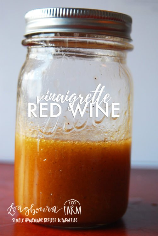 This red wine vinaigrette dressing goes fantastic with a super basic salad. It is a versatile dressing that goes well with anything! #redwinevinaigrette #redwinevinaigretterecipe #redwinevinaigrettedressing #redwinevinaigretteeasy #redwinevinaigrettelight #redwinevinaigrettehealthy