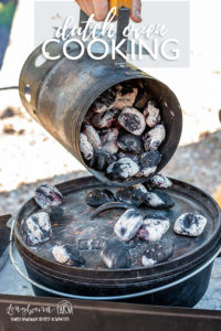 Everything you need to know about dutch oven cooking! Cast iron vs. enameled, how to season it, recipes, and so much more! #dutchoven #dutchovencooking #dutchovenhowto #dutchovenfood #dutchovenrecipes #castiron #castironcooking #cookingoutside #outdoorcooking #campcooking #outdoormeal