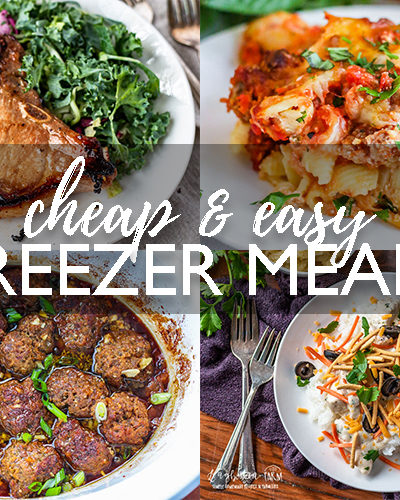 Cheap & Easy Freezer Meals
