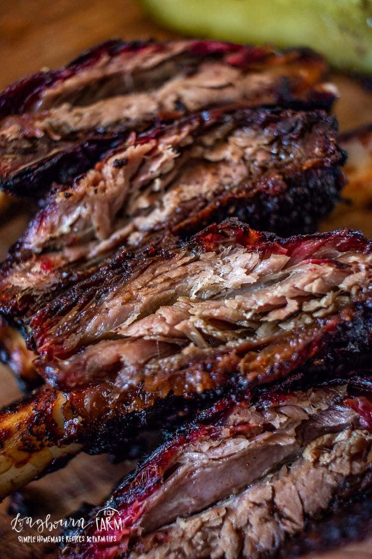 Smoked Beef Ribs Longbourn Farm